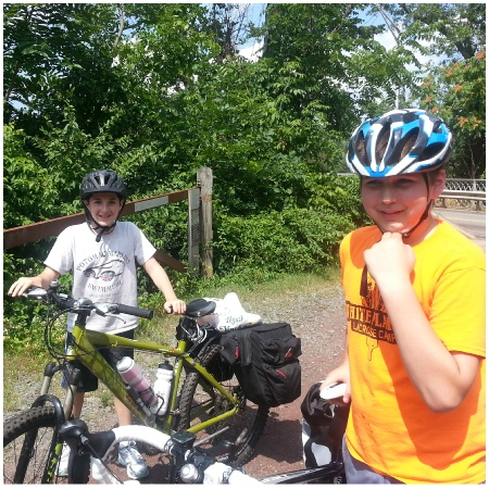 Teen Treks D&R Canal Trek a bicycle trip for First Time Explorers